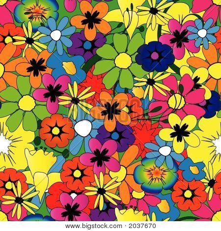 Brightflowerpattern.Eps