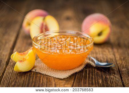 Fresh Made Peach Jam