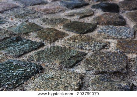 Pave paving stones, natural stone flooring, laid paving