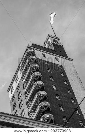 Il Dito Di Mussolini Palace, Turin, Italy