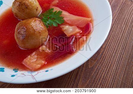 Kubbeh Soup