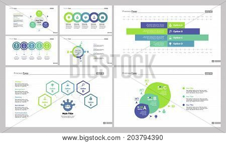 Option and flowcharts design set can be used for workflow layout, annual report, presentations. Management concept with flow, process, option charts