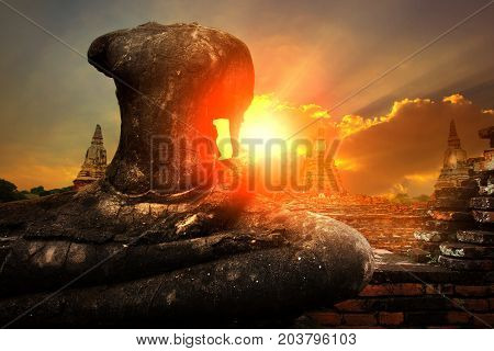 Wat Chaiwatthanaram ayutthaya world heritage site of unesco thailand