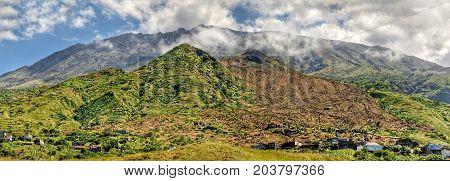 Mountain Landscape In Sao Jorge