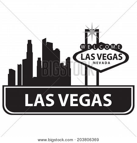 las vegas sign america american city close closeup