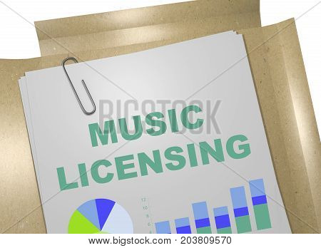 Music Licensing Concept