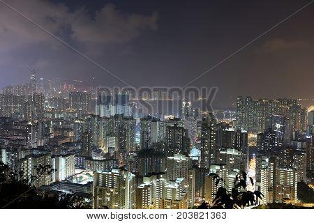 Night Of The Kowloon, Hong Kong Skyline