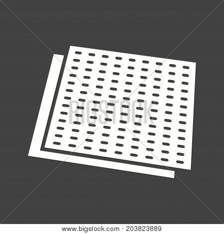 Sandpaper, refinishing, surface icon vector image. Can also be used for Hand Tools. Suitable for use on web apps, mobile apps and print media.
