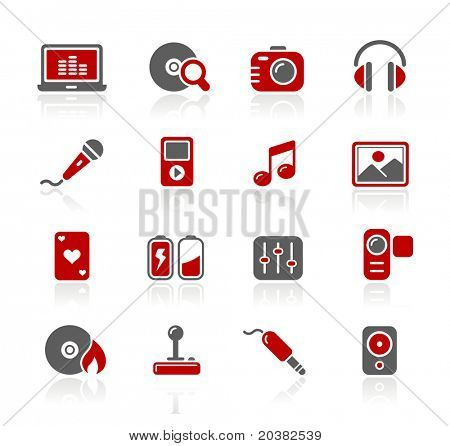 Media & Entertainment Web Icons // Redico Series