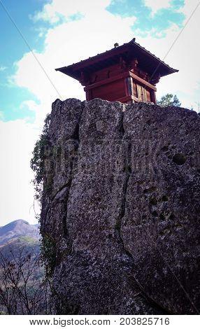 Yamadera Mountain Temple In Japan