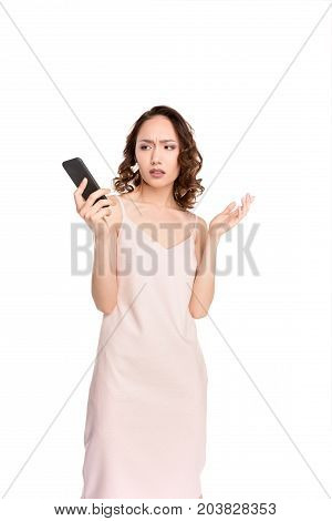 Asian Girl With Smartphone