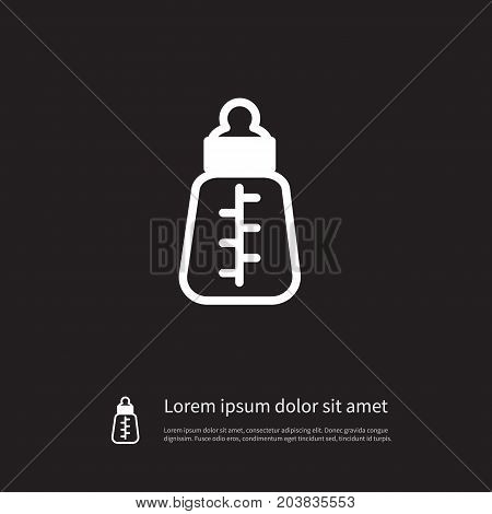 Feeder Vector Element Can Be Used For Feeder, Infant, Nutrition Design Concept.  Isolated Infant Nutrition Icon.