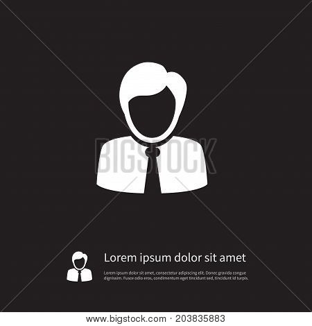 Guest Vector Element Can Be Used For Guest, Coach, Person Design Concept.  Isolated Coach Icon.