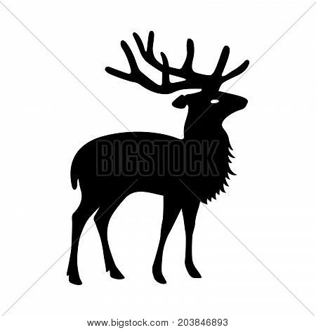 Deer  ( Cervidae ) ( shade picture )