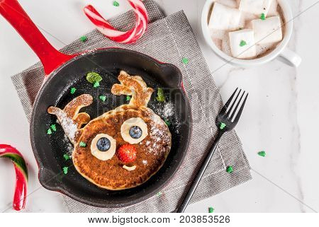 Funny Pancakes For Christmas