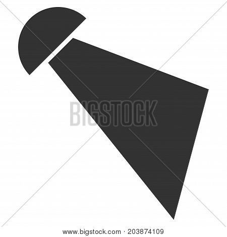 Spray vector icon. Style is flat graphic gray symbol.