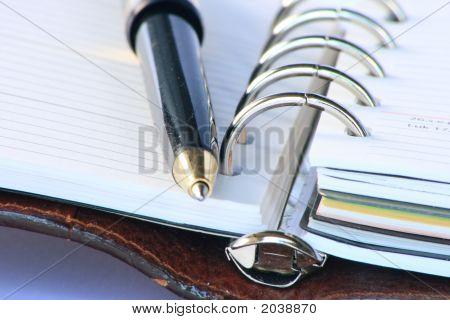 Kalendererinnerung mit Stift