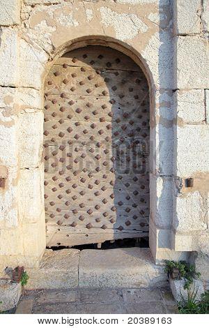 Entrance to the Fort de L'Ile Sainte-Marguerite, Cannes, France