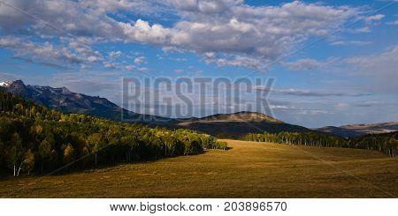 Colorado Rocky Mountain Scenic Beauty in Autumn