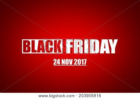 BLACK FRIDAY AS AN ILLUSTRATION ON WHITE BACKGROUND. SHOPPING BACKGROUND
