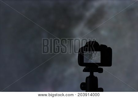 Astrophotography. Long exposure photography. Night photography. Astrophotography.