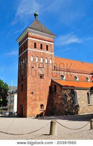 Uppsala, Sweden. Church Helga Trefaldighets Kyrka