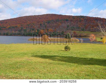 Autumn in Allegheny State Park New York