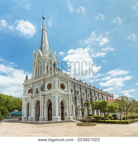 Nativity of Our Lady Cathedral church is a catholic church The church is a public place in Thailand where people with religious beliefs come together to perform rituals.