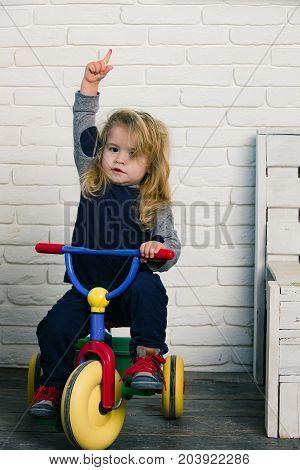 Happy Childhood Concept