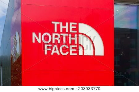 The North Face Retail Store Exterior