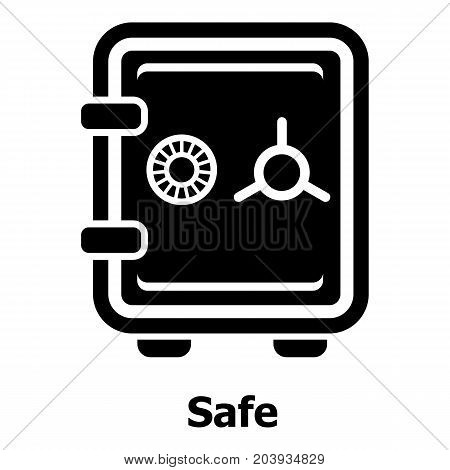 Safe icon. Simple illustration of safe vector icon for web