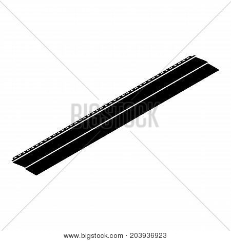 Metal bar icon. Simple illustration of metal bar vector icon for web design isolated on white background