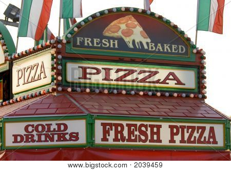Pizza Sign Canopy