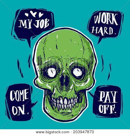Dead businessman speech work hard pay off.