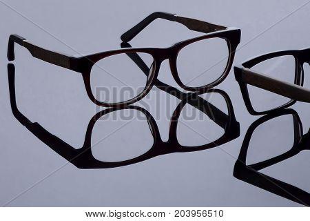 Sunglasses On A Light Background