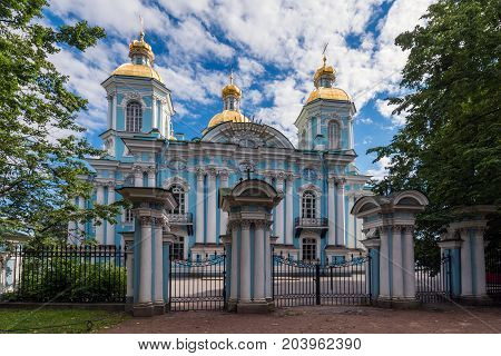 The Naval Cathedral of St. Nicholas the Wonderworker and Epiphany is the first naval cathedral for the sailors of the Russian fleet.