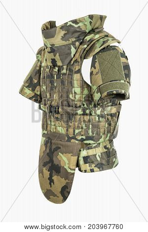 bulletproof plastic protector body armor covers Camouflage