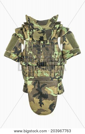 Bulletproof vest body armor covers Camouflage for military