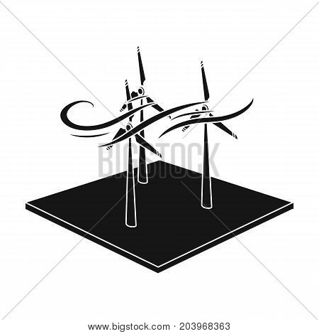 Veterinary single icon in black style.Veterinary, vector symbol stock illustration .