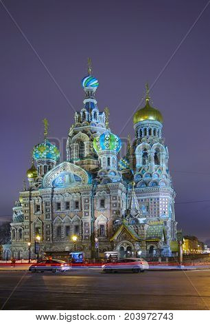 Cathedral of the Resurrection of Christ (Savior on the Blood) it built on the site of the murder of Alexander 2