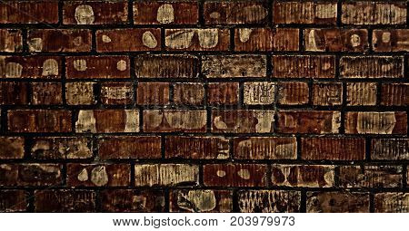 Brown brick wall. Classic brown brick background. Brick texture. Brick background. Grunge. Grunge brickwork. Brickwork. Firebrick. Brick wall.
