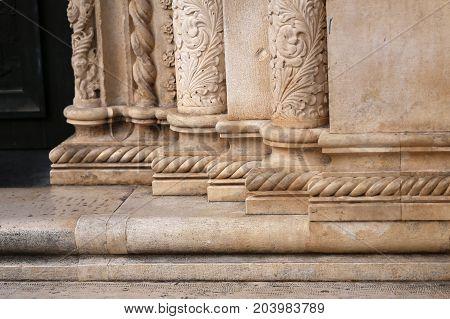 Column / Antique column / Pillar .