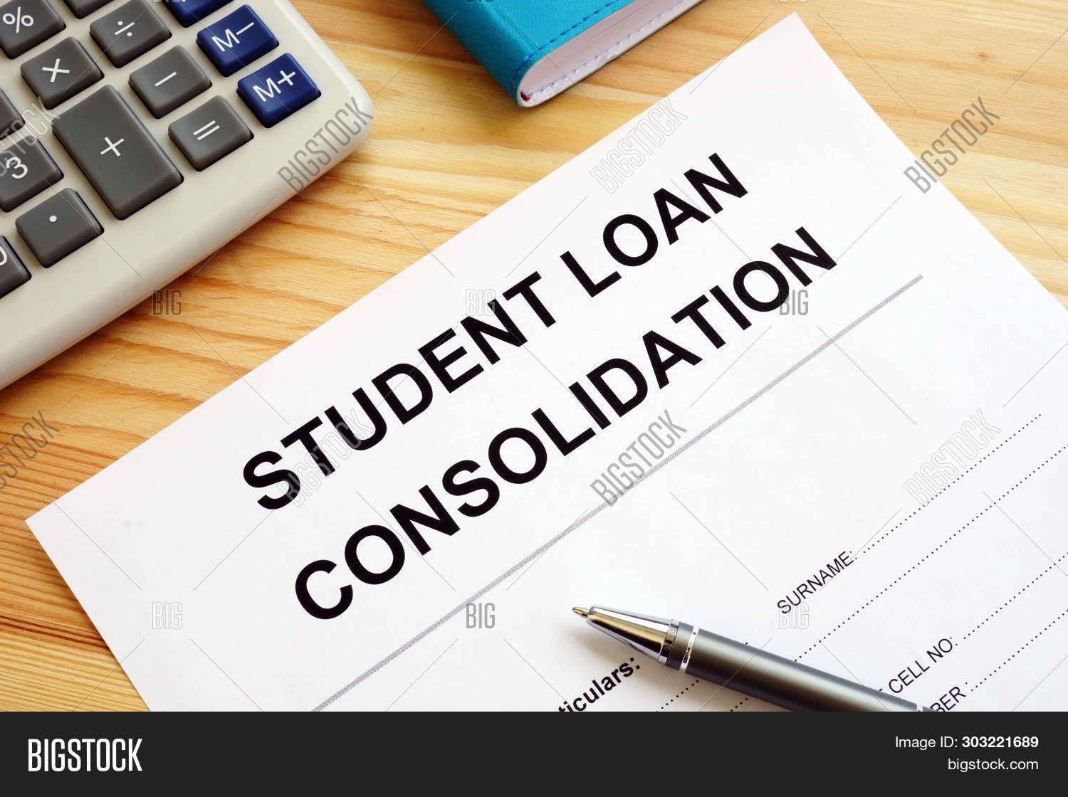 Student Loan Consolidation >> Student Loan Image Photo Free Trial Bigstock