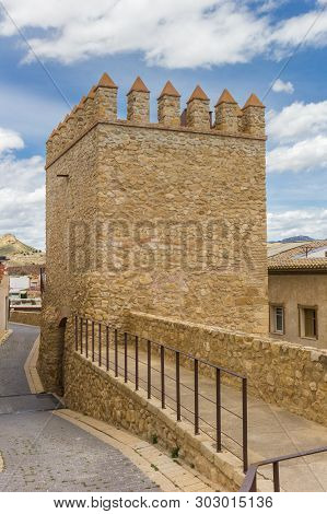 Historic San Antonio City Gate In Lorca, Spain
