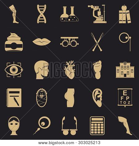 Assay Icons Set. Simple Set Of 25 Assay Vector Icons For Web For Any Design