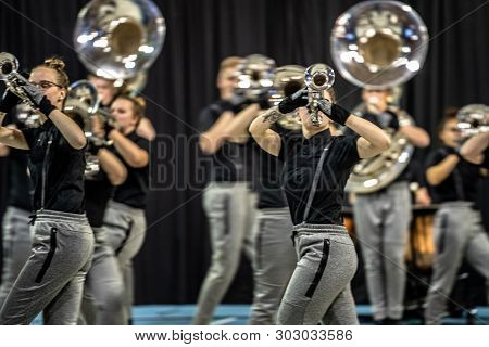 Show Band Or Drum Corps Is A Music Corps That Brings Show Elements Alongside Music. In Addition To F
