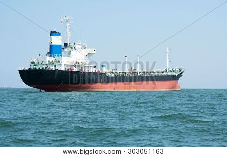 Logistics And Transportation ,international Container Cargo Ship In The Sea, Import Export Business
