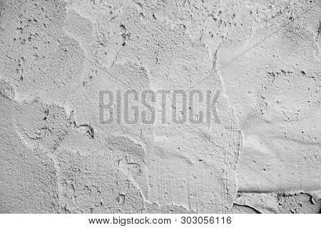 Abstract Concrete Or Cement Texture Wall Use For Background, Concrete Or Cement Texture Of Wall Room