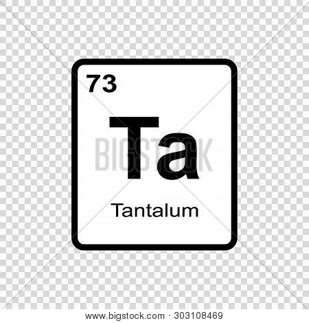 Chemical Element Of Periodic Table. . Template For Your Design