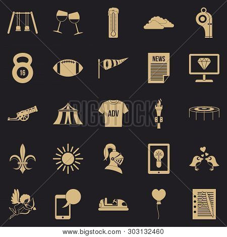 Ensign Icons Set. Simple Set Of 25 Ensign Vector Icons For Web For Any Design